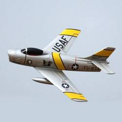 Freewing F-86 Sabre 64mm Jet PNP 3S (Jolley Roger)