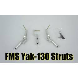 FMS Yak-130 Scale Metal Oleo Struts  (incl. single nose strut)