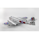 Dynam Gloster Meteor F-8 fighter 2x70mm (12 pales)