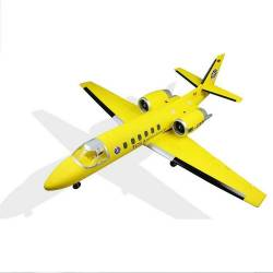 Dynam Cessna 550 Turbo Jet YellowTwin 64mm EDF PNP