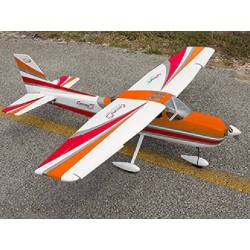 SebArt Cessna S Super Trainer 1660mm ARF (Blanc/Rouge)