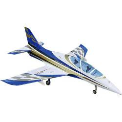 SebArt Avanti XS 120mm Jet 1.9m + JP Hobby 120mm 12S (White/Blue/Gold) PNP (with retracts)
