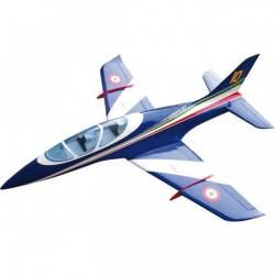 SebArt Avanti XS 120mm Jet 1.9m + JP Hobby 120mm 12S (White/Blue/Red/Green) PNP (with retracts)