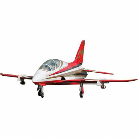 SebArt Avanti XS 120mm Jet 1.9m + JP Hobby 120mm 12S (White/Red/Gold) PNP (with retracts)