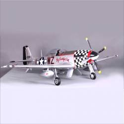FMS P-51 Big Beautiful Doll V8 1400mm PNP