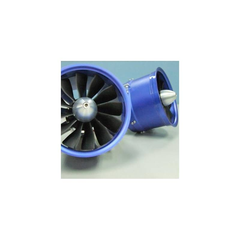 EDF Ducted Fan RC Lander DPS Cone Style 90mm (12 blade) / 8S 1400Kv -  Turbines RC