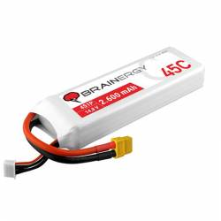 Lipo 4s 2600 mAh 45C Brainergy XT60