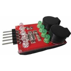 Low Voltage Buzzer Indicator 2-4s LiPo Alarm