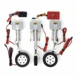 JP Hobby ER-010 Metal Struts set + Brakes (for planes up to 5kg)
