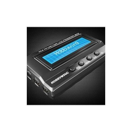 Hobbywing Multifunction LCD Program Box for Platinum, Xerun, Ezrun ESC
