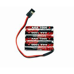 Pack Rx S 4.8V/AAA-1000 JR