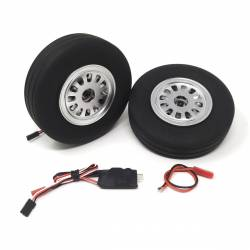 JP Hobby Electric Brake with 2x 115/31mm Wheels (8mm axle)