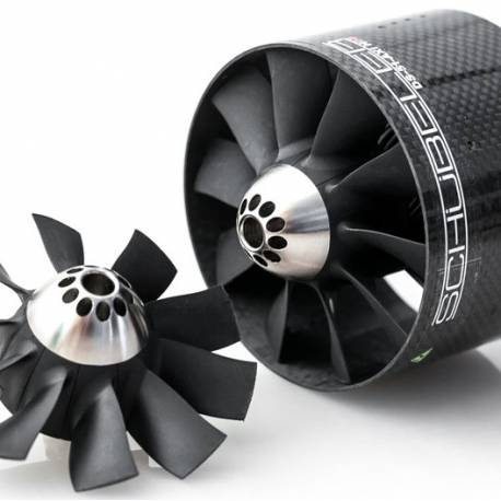 Schubeler DS-51-AXI HDS 90mm Carbon EDF Ducted Fan (w/o brackets)