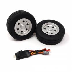 JP Hobby Electric Brake with 2x 86/31mm Wheels (8mm axle)