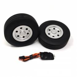 JP Hobby Electric Brake with 2x 95/31mm Wheels (8mm axle)