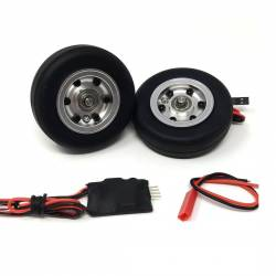 JP Hobby Electric Brake with 2x 63/20mm Wheels (5mm axle)
