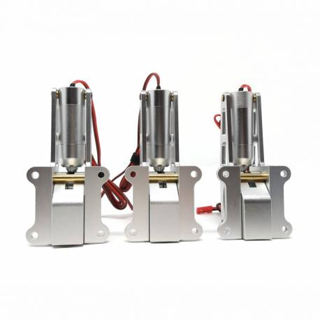JP Hobby ER-150 15mm Alloy Electric Retracts Set (3 retracts) + Sequencer  (for models up to 20kg) - Turbines RC