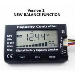 2-7S LiPO Battery Voltage Tester Balancer LiPo LiFe Nimh NiCd Pro-Tronik