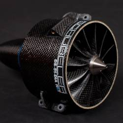Schubeler DS-51 HST 93mm Carbon EDF Ducted Fan + DSM4625-1100 Motor
