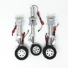 JP Hobby ER-150 Tricycle Full Set with Brakes (Carf Ultra Flash Evo 2m or planes up to 20kg) + Sequencer (optional)