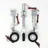 JP Hobby ER-150 ES Tricycle Full Set with Brakes (Carf Eurosport 2.0m or planes up to 20kg) + Sequencer (option)