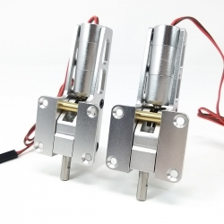 JP Hobby ER-005 5mm Alloy Electric 2 Retracts Set (6kg/Low/Outside) + Sequencer (optional)