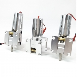 JP Hobby ER-005 5mm Alloy Electric 3 Retracts Set (6kg/Low/Outside-Inside) + Sequencer (optional)