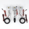 JP Hobby ER-120 Tricycle Full Set with Brakes (Boomerang Nano 1.5m or planes up to 15kg) + Sequencer (optional)