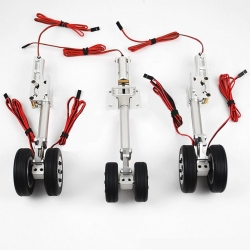 JP Hobby ER-120 Tricycle Full Set with Brakes (Flyfly Airliner Airbus) + Controller
