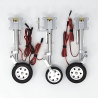 JP Hobby ER-120 Tricycle Full Set with Brakes (Taft Hobby Futura 1.4m or planes up to 12kg) + Sequencer (optional)