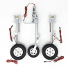 JP Hobby ER-150 Tricycle Full Set with Brakes (Carf Viper MK II 2.5m or planes up to 20kg) + Sequencer (optional)