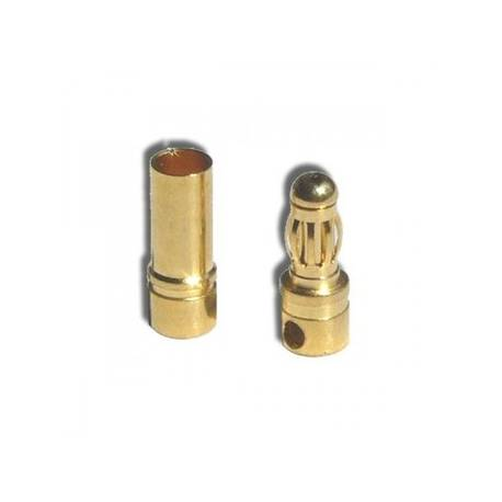 3,5mm pk gold connector