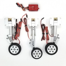 JP Hobby ER-120 Tricycle Full Set with Brakes (Black Horse L-39 1.45m) + Controller