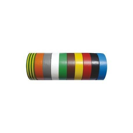 Adhesive tape 10 m Green / Yellow Stripes