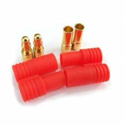 HXT 3.5mm Gold Connector Set (1 Pair)