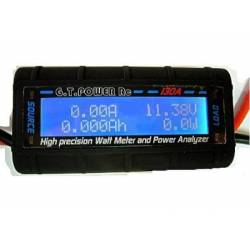 GT Power 130A Watt Meter and Power Analyser