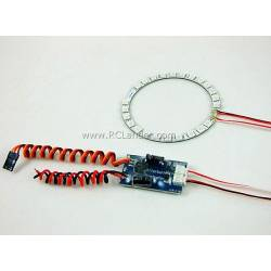 Dynamic Afterburner LED ring 3 colours for 70mm EDF