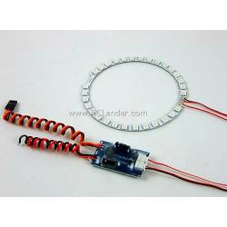 Dynamic Afterburner LED ring 3 colours for 90mm EDF