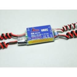 UBEC RC Lander 3A 2-8S with Remote Control Switch