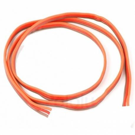 Cable 3 core Servo Cable Flat JR/Graupner Type 0.10mm² (1 meter)