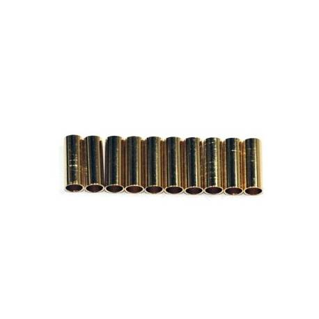 4mm Gold Plug Female Tube (10 units)