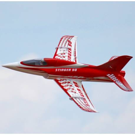 """Freewing Stinger 90mm EDF Jet """"All Options Included"""" RTF"""