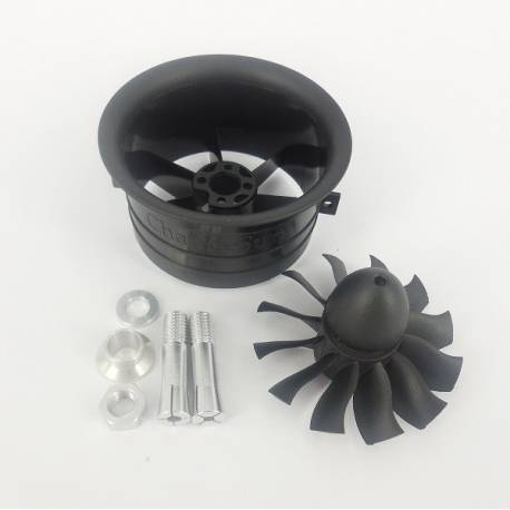 Changesun XRP 12 Blades 64mm EDF Ducted Fan (adapt. 3.17 and 4mm)