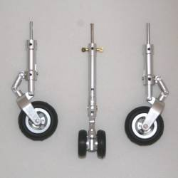 T-45 Scale Metal Wheels Landing Gear