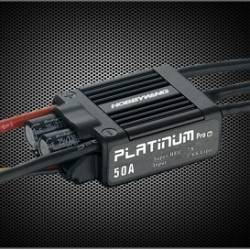 Controleur Brushless Hobbywing 50A Platinum Pro V3 2-6S