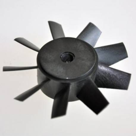 Rotor Turbine Wemotec Mini Fan evo (9 pales) 62,5mm pour turbine 64mm