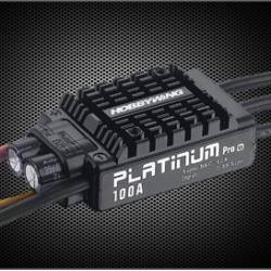 Controleur Brushless Hobbywing 100A Platinum Pro V3 2-6S
