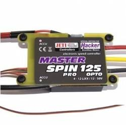 Controleur Brushless Jeti / Hacker Master SPIN 125 Pro 4-12S OPTO
