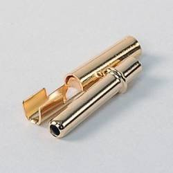 2.3mm Gold Plug Male/Female
