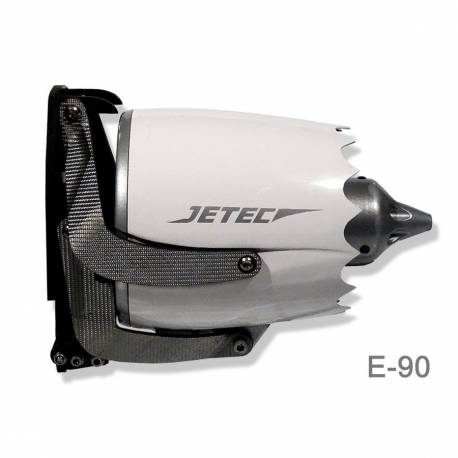 Turbine Mig Flight JETEC E-90 mm retractable pour Planeur